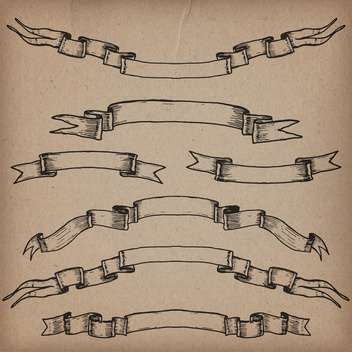 vintage design elements set - Free vector #134297