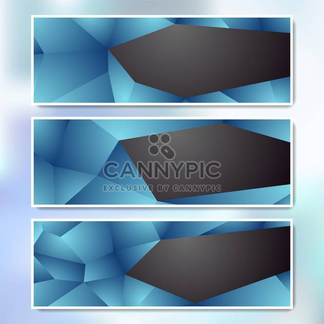 vector set of web banners - Free vector #134687