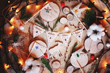 Beautiful Christmas composition. #warm - бесплатный image #136277