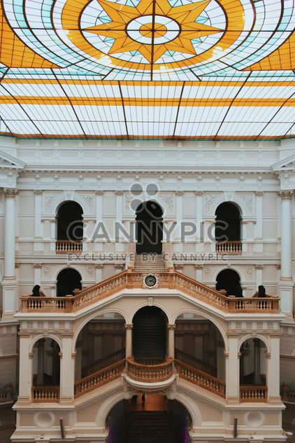 Courtyard of Polytechnic University, Warsaw, Poland - Free image #136667