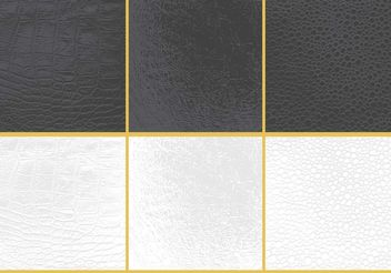 Leather Backgrounds - vector gratuit #138677
