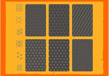 Stylish Seamless Vector Patterns - Free vector #138787