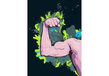 Arm Muscles - Free vector #138917