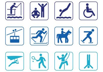Person Symbol Set - Free vector #139037