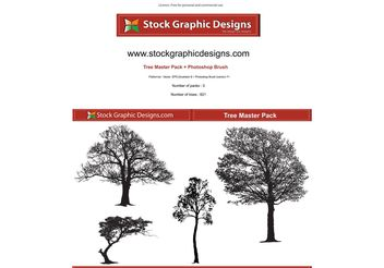 Tree Master Pack - vector #139527 gratis