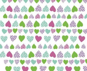 heart corazones multicolor - Free vector #139627