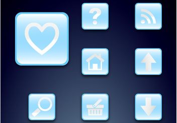 Icon Set - vector gratuit #140007