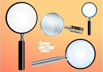 Magnifying Glass - Free vector #140097