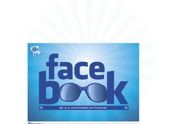 Cool Facebook Logo - vector gratuit #140157