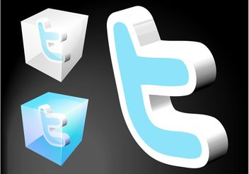 Twitter Icons - Kostenloses vector #140217