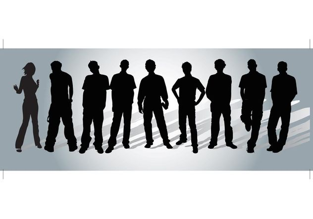 People Vectors - Free vector #140367