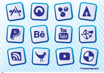 Social Websites - Free vector #140427