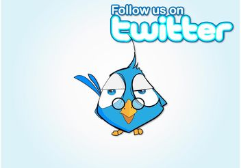 Follow Bird - vector gratuit #140487
