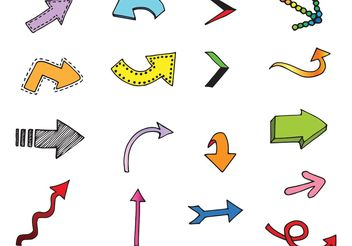 Free Vector Arrows - vector gratuit #140727