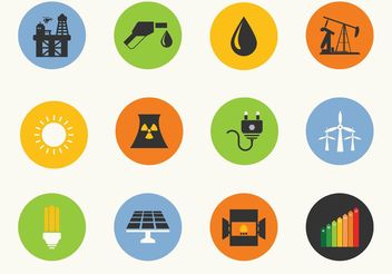 Free Energy Vector Icons - Kostenloses vector #140747