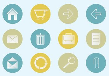 Free Vector Office Icon Set - Free vector #140787