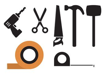Tool collection - Free vector #140797