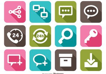 Miscellaneous Icons Set - Free vector #140927