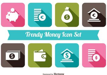 Trendy Monet Icon Set - Kostenloses vector #141097