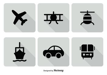 Transporation Icon Set - Free vector #141167