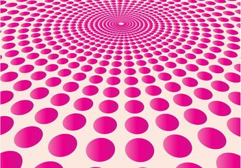 Pink Dots Pattern - Free vector #141327