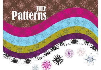 Vector Patterns - vector gratuit #141497