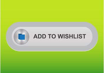 Wish List Button - vector gratuit #141667