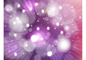 Magic Background Vector - vector gratuit #141757