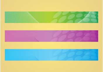 Dots Banners - Free vector #141767