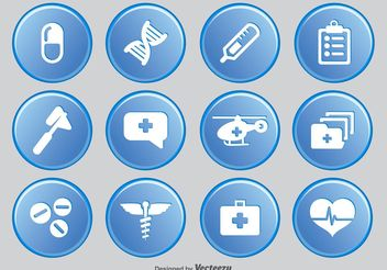 Medical Icon Set - Free vector #141927