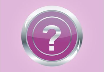 Question Button - vector gratuit #142497