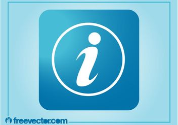 Information Symbol Icon - vector #142587 gratis
