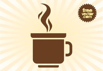 Coffee Mug Logo - vector gratuit #142617