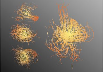 Scribbled Lines - vector #142867 gratis