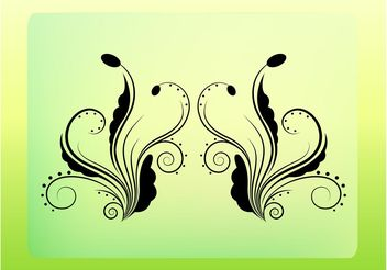 Floral Ornament Vector - Free vector #142947