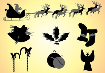 Christmas Clipart - Free vector #142967