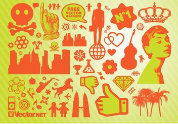 Vector Graphics Package - Free vector #143117