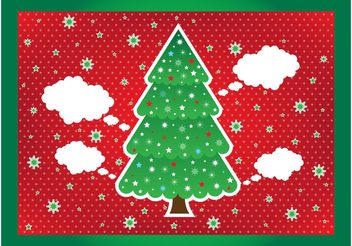 Christmas Layout - vector gratuit #143267