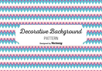 Decorative Background Pattern - vector gratuit #143517