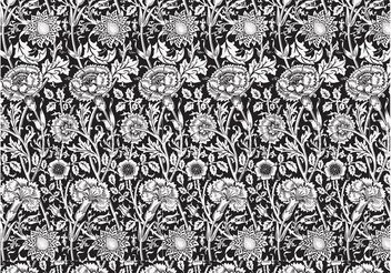 Seamless Floral Pattern Vector - бесплатный vector #143527