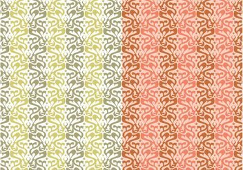 Abstract Seamless Patterns - vector gratuit #143547