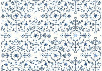 Abstract Pattern Background Vector - vector gratuit #143637