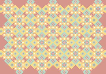 Native Abstract Pattern Background - vector gratuit #143687