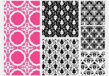 Flowers Patterns - vector gratuit #143817