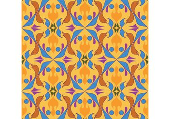 Seamless Abstract Pattern Vector - vector gratuit #143827