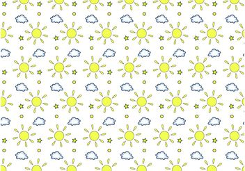 Weather Pattern - vector gratuit #143947