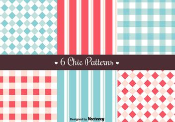 Free Retro Patterns - vector gratuit #144167
