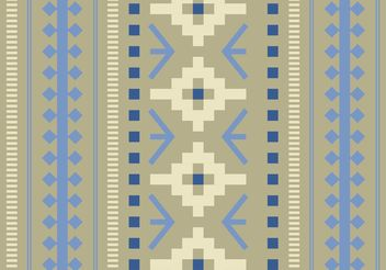 Native American Pattern Free Vector - Free vector #144297