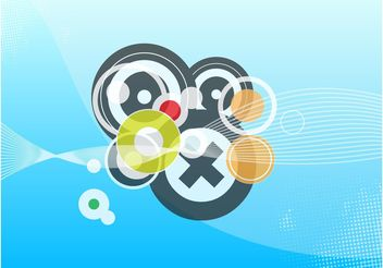 Circles Footage - vector #144327 gratis