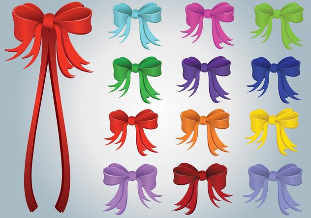 Gift Ribbons - Free vector #144517